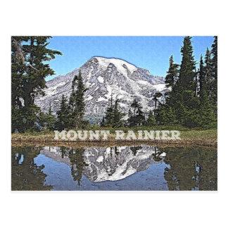Cartão Postal Estado do Monte Rainier - de Washington