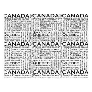 Cartão Postal Estados & cidades canadenses