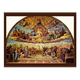 Cartão Postal Estância Della Signatura no vaticano para o papa