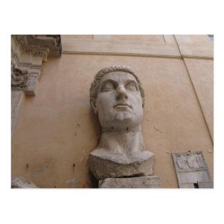 Cartão Postal Estátua colossal de Constantim, Roma, CE. 315-220