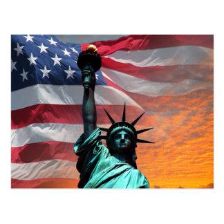 Cartão Postal Estátua da liberdade