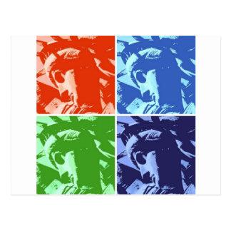 Cartão Postal Estátua da liberdade New York do estilo do pop art
