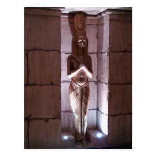 Cartão Postal Estátua de Eqyptian