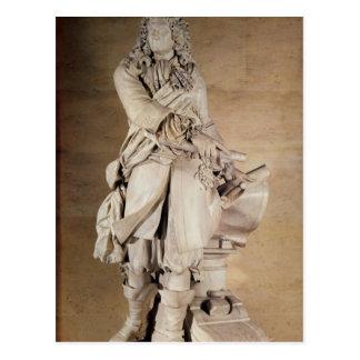 Cartão Postal Estátua de Sebastien Le Prestre de Vauban 1785