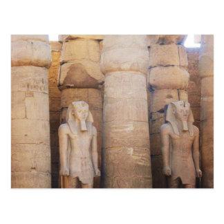 Cartão Postal Estátua do faraó Ramses II, Templo de Luxor