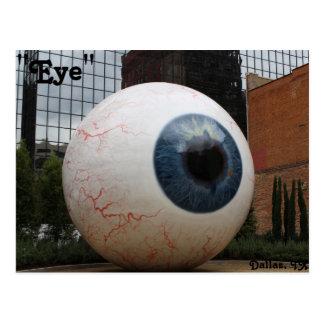 Cartão Postal Estátua do olho # 1
