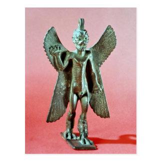 Cartão Postal Estatueta de Pazuzu, um demónio Assyrian do vento