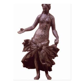Cartão Postal Estatueta de Venus, tarde ø ou ANÚNCIO do século