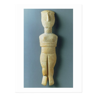 Cartão Postal Estatueta fêmea, Cycladic adiantado, c.2800-2300
