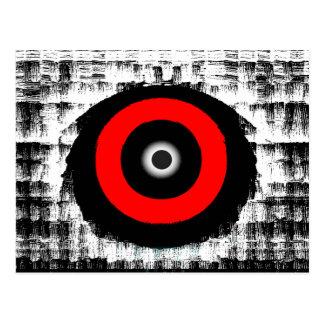 Cartão Postal Este olho tem-no