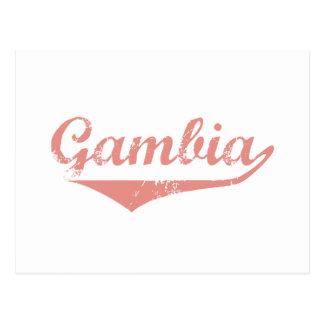 Cartão Postal Estilo da revolução de Gambia