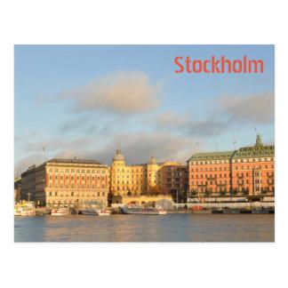 Cartão Postal Éstocolmo, suecia