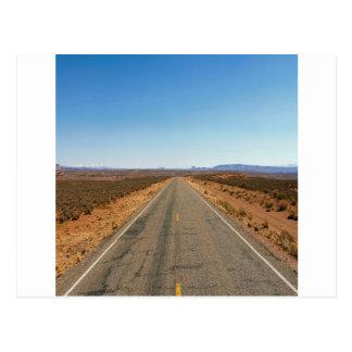 Cartão Postal Estrada Cayons da natureza além