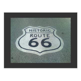 Cartão Postal Estrada da mãe da rota 66