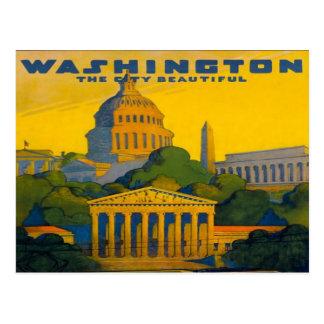 Cartão Postal estrada de ferro da C.C. Pensilvânia de Washington
