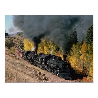 Cartão Postal Estrada de ferro de Cumbres e de Toltec, no. 487 e