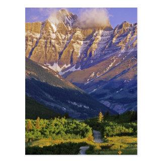 Cartão Postal Estrada vermelha da rocha no parque nacional dos