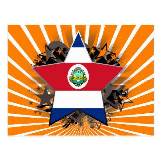 Cartão Postal Estrela de Costa Rica
