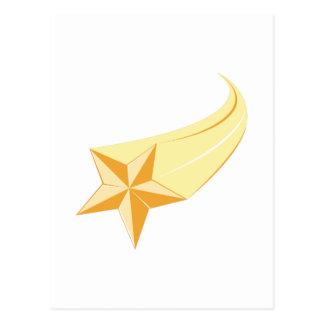 Cartão Postal Estrela de tiro