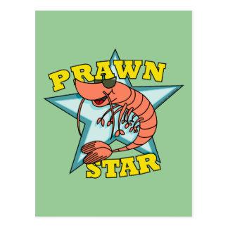 Cartão Postal Estrela do camarão