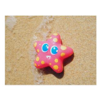 Cartão Postal Estrela do mar pequena