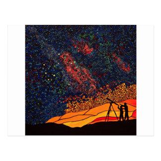 Cartão Postal Estrela que olha
