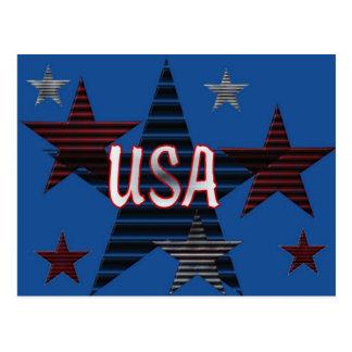 Cartão Postal Estrelas dos EUA
