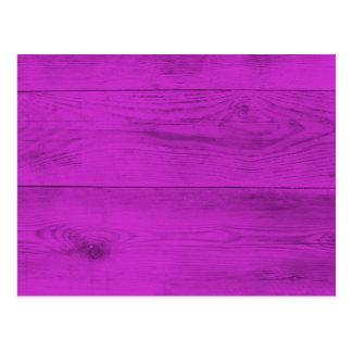 Cartão Postal Estrutura da madeira de Pinke