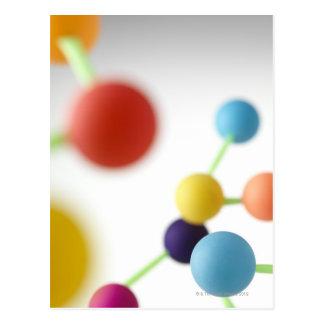 Cartão Postal Estrutura molecular