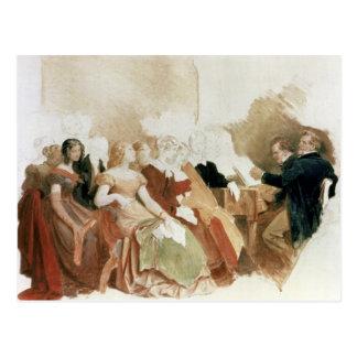 Cartão Postal Estude por uma noite no Baron von Spaun