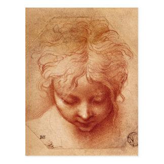 Cartão Postal Estudo de uma cabeça