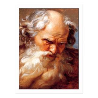 Cartão Postal Estudo para Netuno pelo deão de Gabriel