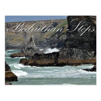 Cartão Postal Etapas de Bedruthan