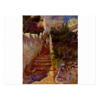 Cartão Postal Etapas em Argel por Pierre-Auguste Renoir