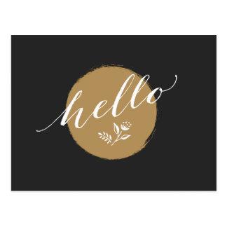"""Cartão Postal Eterno, maneira encantador de dizer """"olá! """""""
