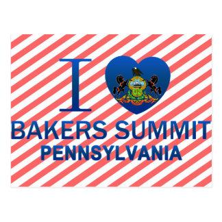 Cartão Postal Eu amo a cimeira dos padeiros, PA