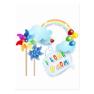 Cartão Postal Eu amo a mamã de U