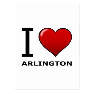 Cartão Postal EU AMO ARLINGTON, TX - Texas
