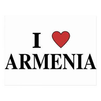 Cartão Postal Eu amo Arménia