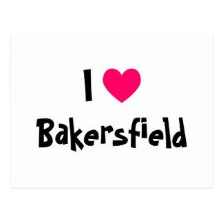 Cartão Postal Eu amo Bakersfield