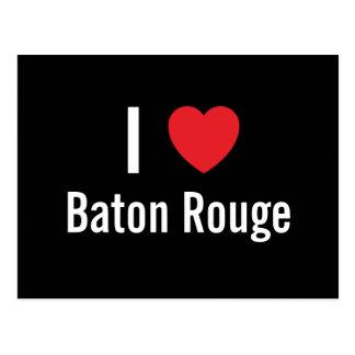 Cartão Postal Eu amo Baton Rouge