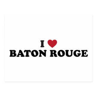 Cartão Postal Eu amo Baton Rouge Louisiana