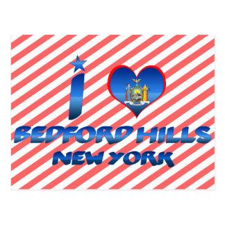 Cartão Postal Eu amo Bedford Hills, New York