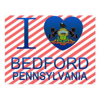 Cartão Postal Eu amo Bedford, PA