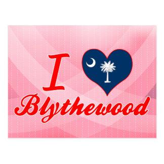 Cartão Postal Eu amo Blythewood, South Carolina