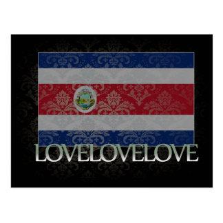 Cartão Postal Eu amo Costa Rica legal