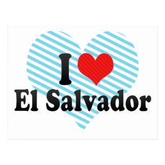 Cartão Postal Eu amo El Salvador