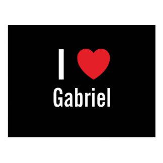 Cartão Postal Eu amo Gabriel