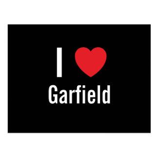 Cartão Postal Eu amo Garfield