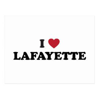 Cartão Postal Eu amo Lafayette Louisiana